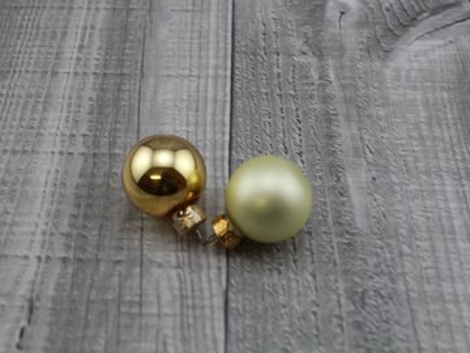 Skleněné kouličky závěsné-zlatá