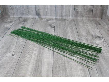 Dráty sekané zelené 1,4mm