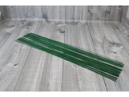 Dráty sekané zelené 1,6mm
