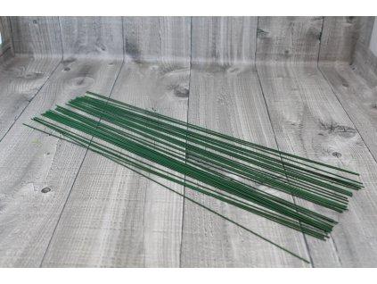Dráty sekané zelené 1,8mm