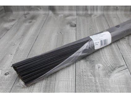 Dráty sekané černé 1,8mm