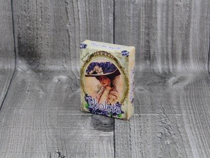 Mýdlo přírodní 40g violet