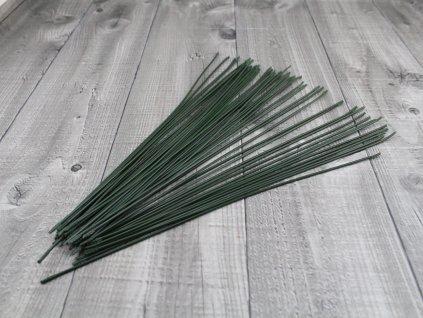 Dráty sekané potažené plastem