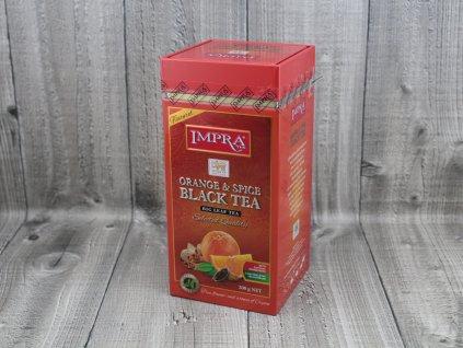 Čaj s pomerančem