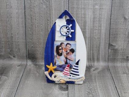 Rámeček na fotku-loďka malá