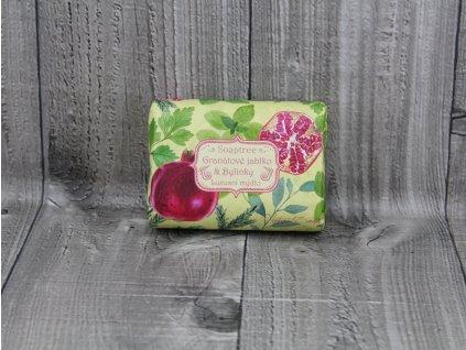 Mýdlo přírodní 200g- Granátové jablko a bylinky