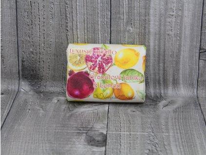 Mýdlo přírodní 200g- Granátové jablko a lemon