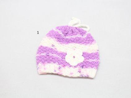 Čepička pletená vel.30-13 cm.