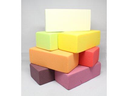 Aranžovací hmota barevná 23x11x8 cm Oasis