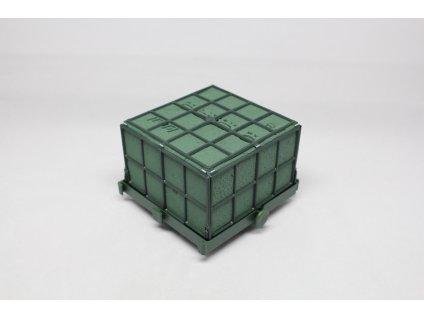 Aranžovací hmota kostka 11x11x9 cm