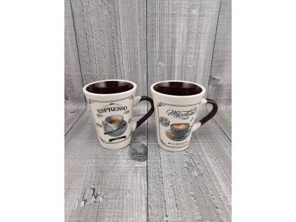 Šálek espresso sada 2 kusy