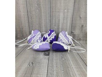 Srdíčko malé fialové
