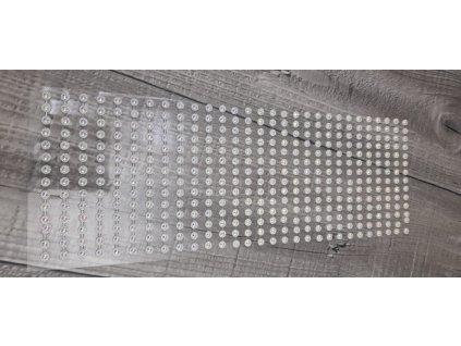 Kytičky nalepovací 5mm-bílá