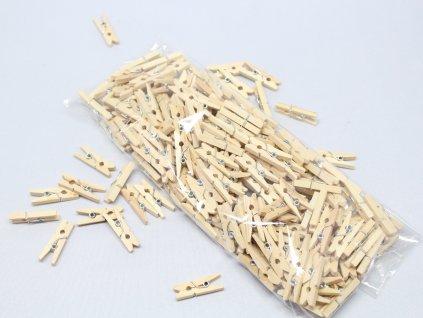 Kolíček dřevěný mini 2,5cm