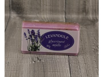 Mýdlo glycerínové levandule