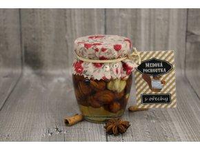 Med s ořechy 145ml