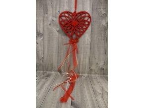 Srdce filcové závěs