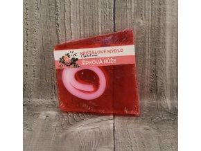 Mýdlo křišťálové malé šípková růže