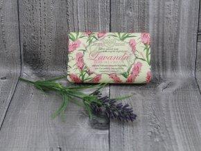 Mýdlo Lavanda 150g růžové NESTI DANTE