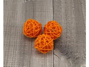 Pedig koule 3 oranžová