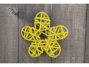 Květ ratanový žlutý