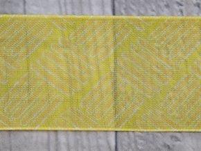 Stuha 40 čárky/žlutá