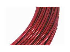 Drátek hliníkový červená 2mm