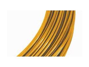 Drátek hliníkový šafrán 2mm