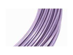 Drátek hliníkový levandule 2mm