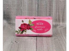 Mýdlo glycerínové-růže