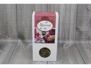 Čaj zelený zázvor