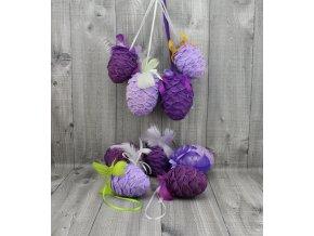 Vejce krepové-fialový mix
