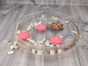 Svíčka plovoucí vonná jahoda