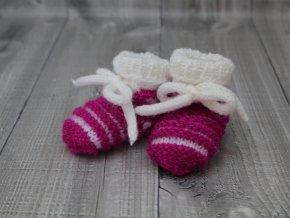 Bačkůrky mimi dvoubarevné malinové