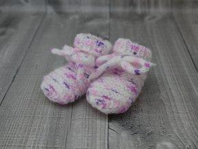 Bačkůrky mimi strakaté bílofialové