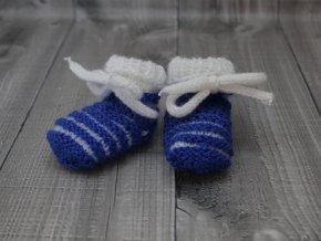 Bačkůrky mimi dvoubarevné modré tmavé