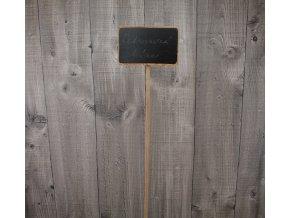 Tabulka dřevěná popisovací malá