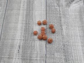 Drátkové kouličky vlnité měď 06