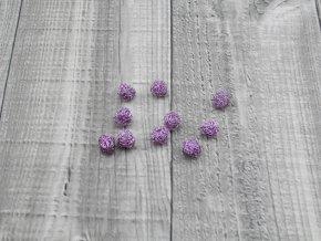 Drátkové kouličky vlnité levandule 36