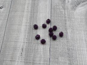 Drátkové kouličky vlnité lilek 03