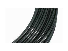 Drátek hliníkový černá 2mm