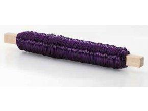 Drátek rovný 0,5mm violet 04