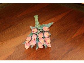 Tulipán umělý oranžový