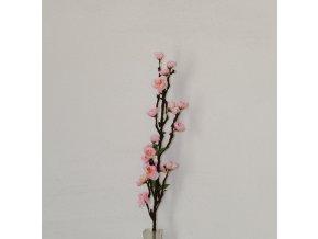 Větvička třešňová růžová malá