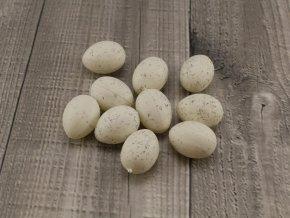 Vajíčko plastové střední bílé
