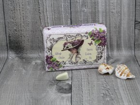Mýdlo přírodní 200g Lady Violet