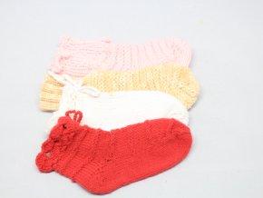 Ponožky pletené 24/25