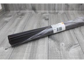 Dráty sekané černé 1mm
