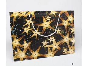 Dárková taška hvězdičky