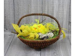 Kuřátka v košíčku